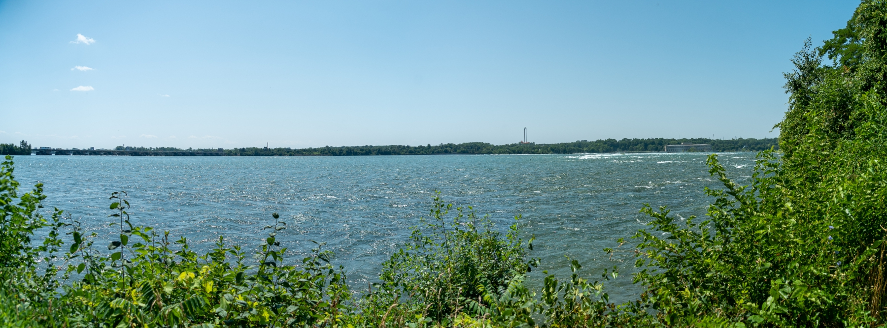 niagara River panorama