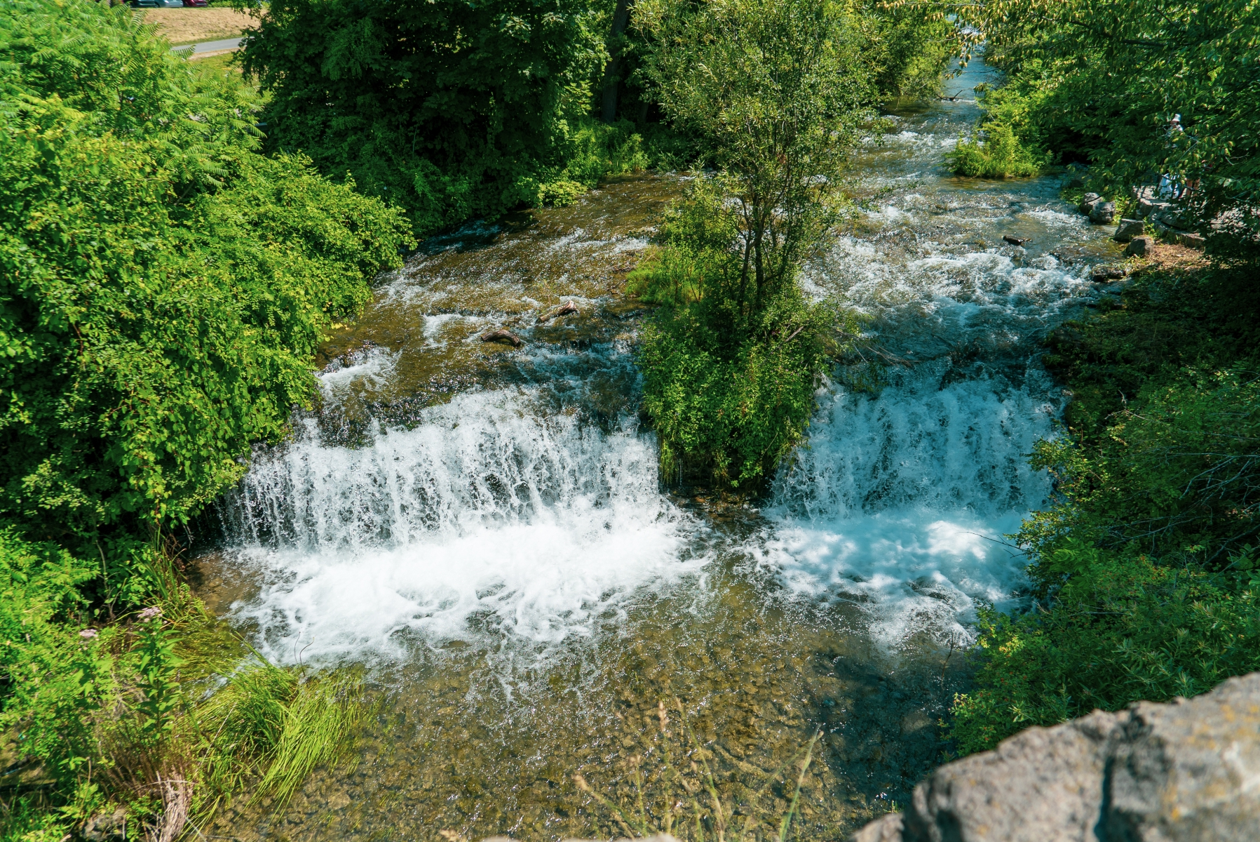 Three sisters islands rapids