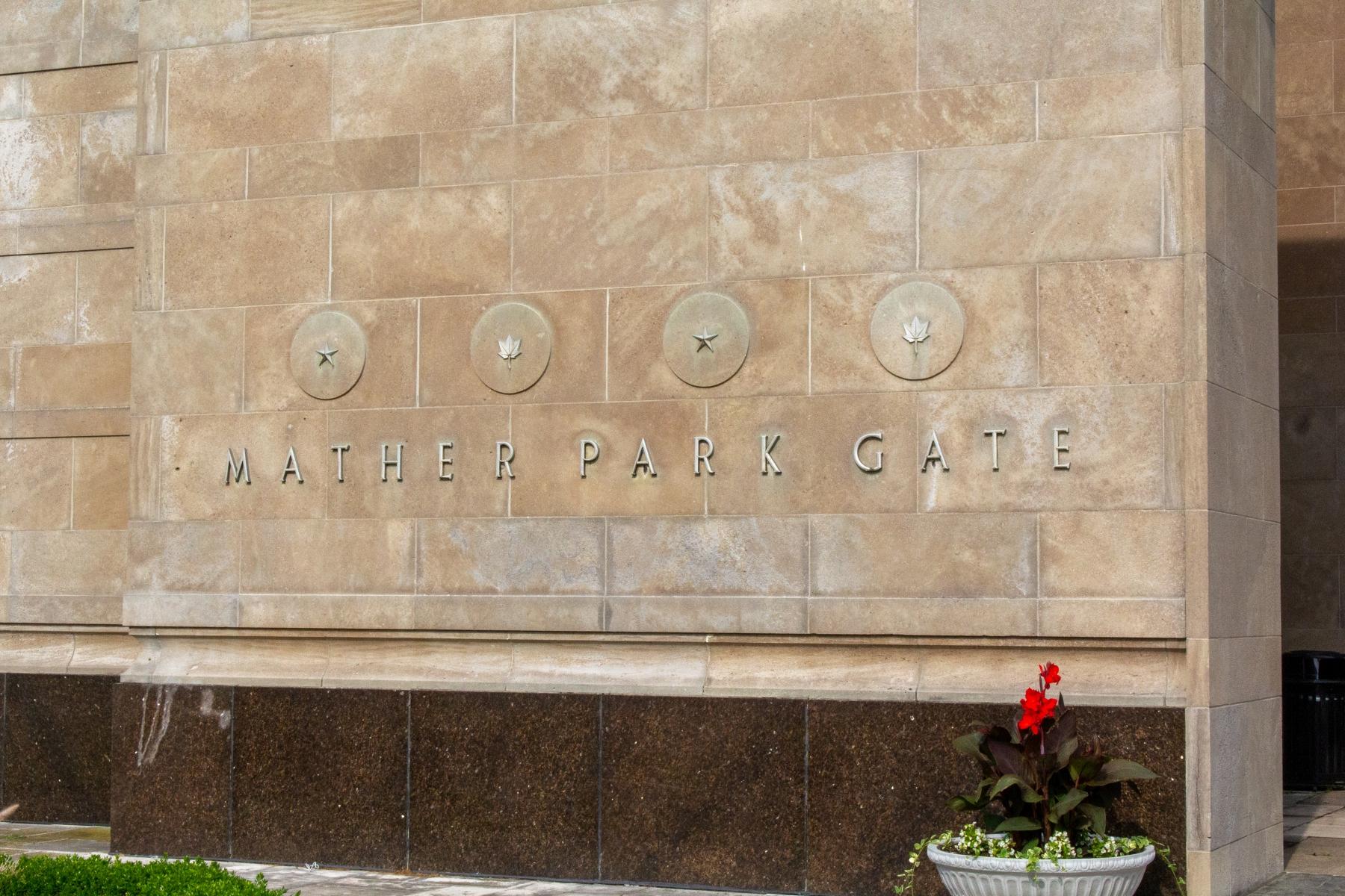 Mather park gate